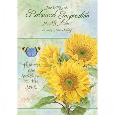 Botanical Inspiration 2015 Monthly Planner