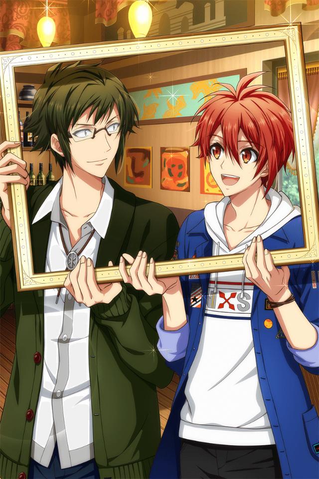 Yamato & Riku (Shuffle Talk) Manga garçon, Manga, Kawaii