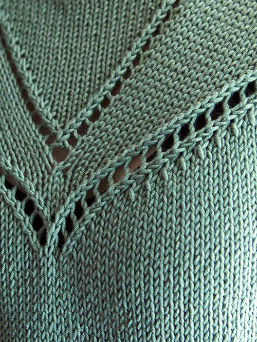 Admit Sleeveless Tee Free Knitting Pattern — NobleKnits Knitting Blog
