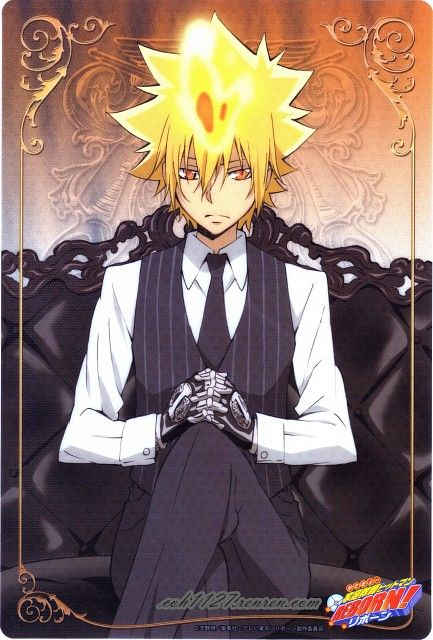 Giotto Hottest Mafia Boss I Have Ever Seen Warning This Is Not