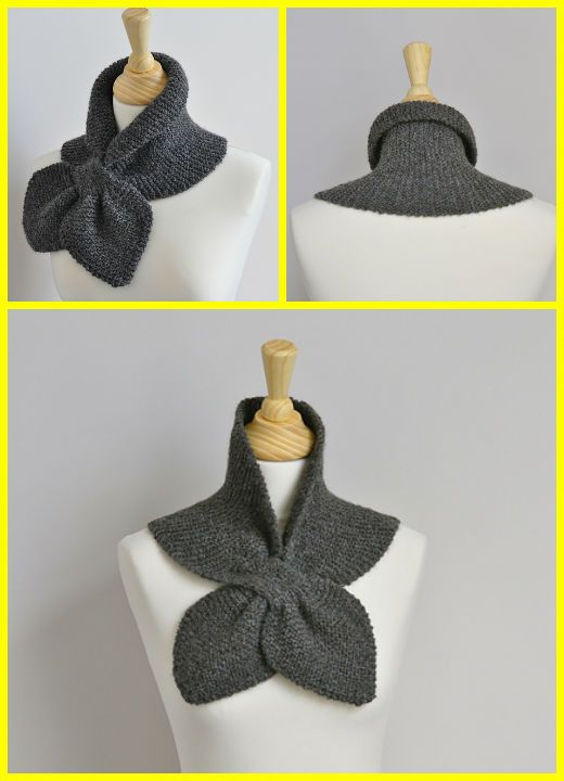 Knit Garter Stitch Miss Marple Scarf Free Pattern | Knitting ...