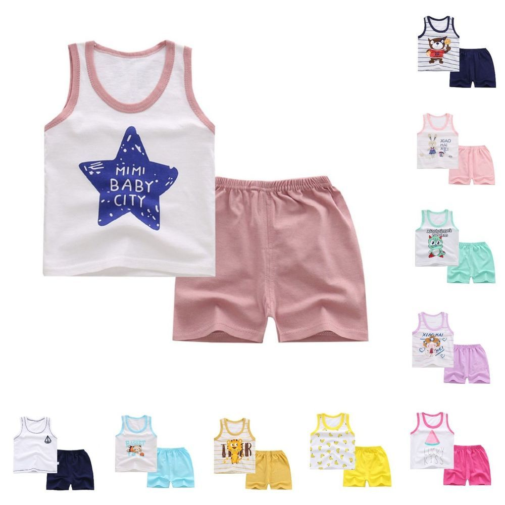 572b8642a2b Baby Clothes New Stylish Fashion Cute Design Summer Casual Sleeveless Vest  Short  fashion  clothing  shoes  accessories  babytoddlerclothing ...