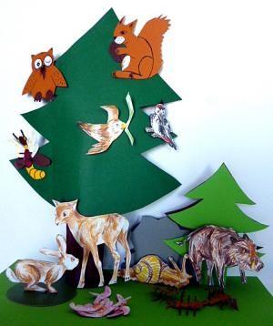 Weihnachtsgeschichte Waldtiere