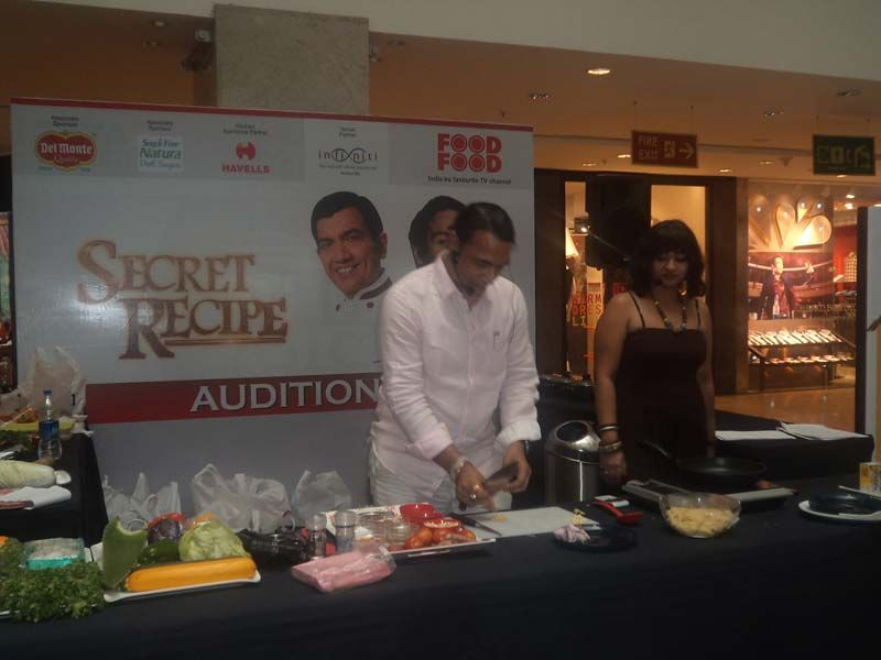Secret recipe audition event featuring chef shailendra kekade host secret recipe audition event featuring chef shailendra kekade host of style chef on foodfood channel forumfinder Choice Image