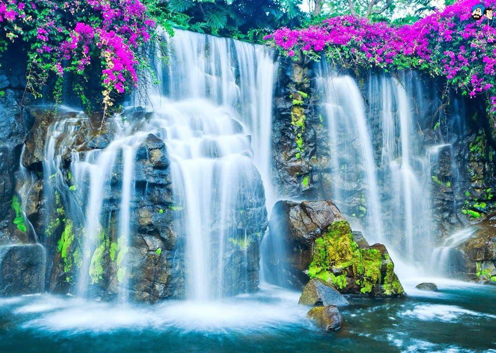 Blue Nile Falls Wallpaper Pin By Sarah Washington On Spectacular Waterfalls