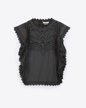 Isabel Marant Etoile / Top Salvia Black