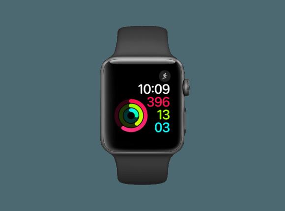 Smart Watch Apple Watch Series 2 Smart Watch Aluminium Polymer 42 Mm Grau Schwarz Mediamarkt Apple Watch Kaufen Apfeluhr Sport Armband