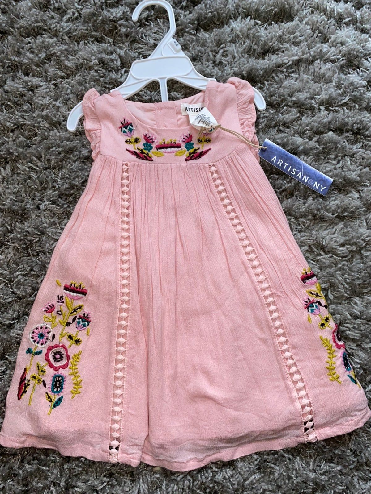 Artisan NY baby girl Dress 5-5 months in 5  Baby frocks