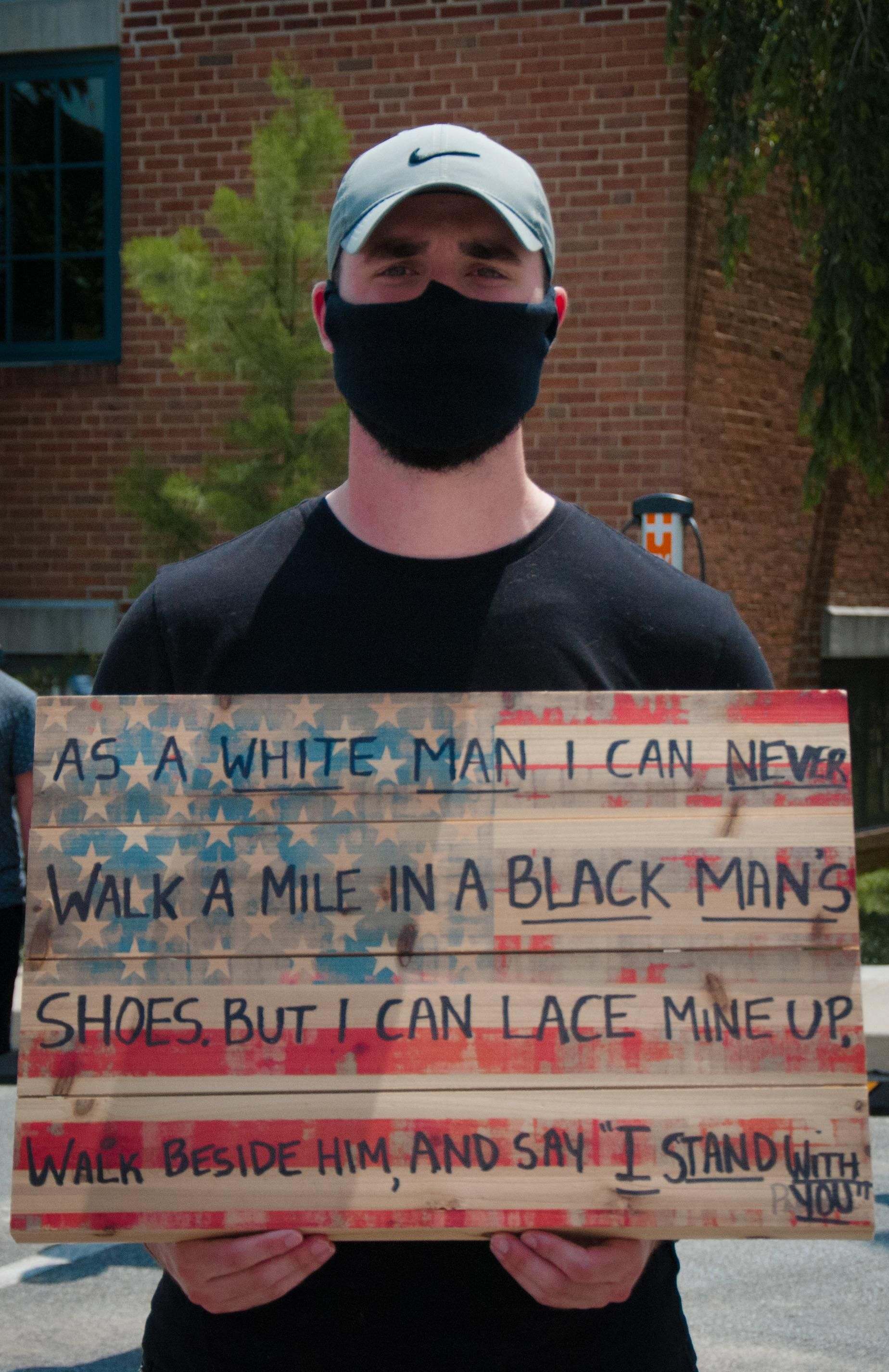 Photo Taken In Small Swarthmore Pa Protest Today Protests Today One Word Art Black Lives Matter