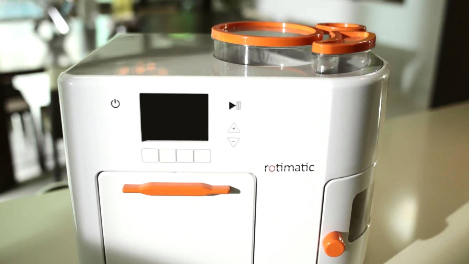 Mm, this looks amazing! Rotimatic - Automatic roti making appliance ...