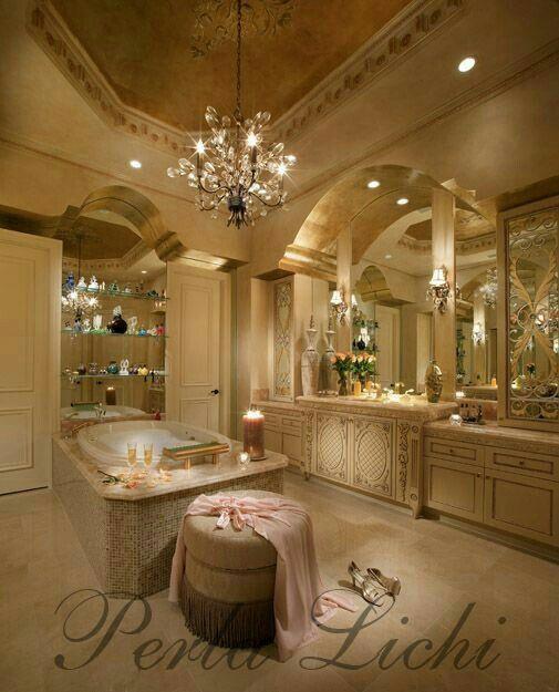 Romantic Bathroom Lighting Ideas: ~Interior~ ~Bathroom~