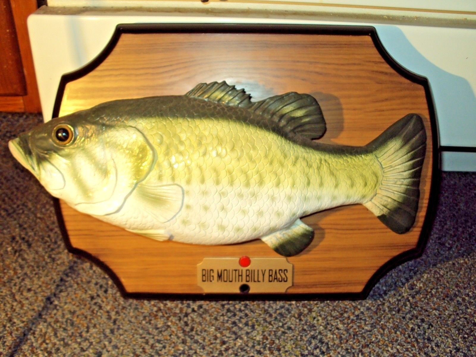 Original 1999 Big Mouth Billy Bass Singing Fish Motion Activated ...