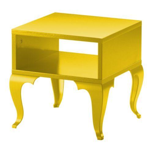 Ikea Bright Yellow Trollsta Side Table