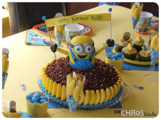 Maulwurfkuchen Minions Kuchen Minion Cake Cake Art