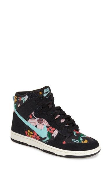 hot sale online d798c fe89a Nike  Dunk Hi - Skinny Print  High Top Basketball Sneaker available at   Nordstrom