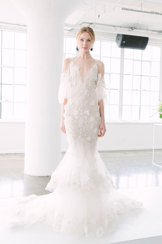 Marchesa Bridal Spring 2018 Fashion Show