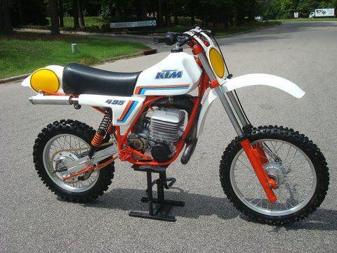 Jason Weaver uploaded this image to 'Vintage Motorcross/1981 KTM 495'. See the album on Photobucket.