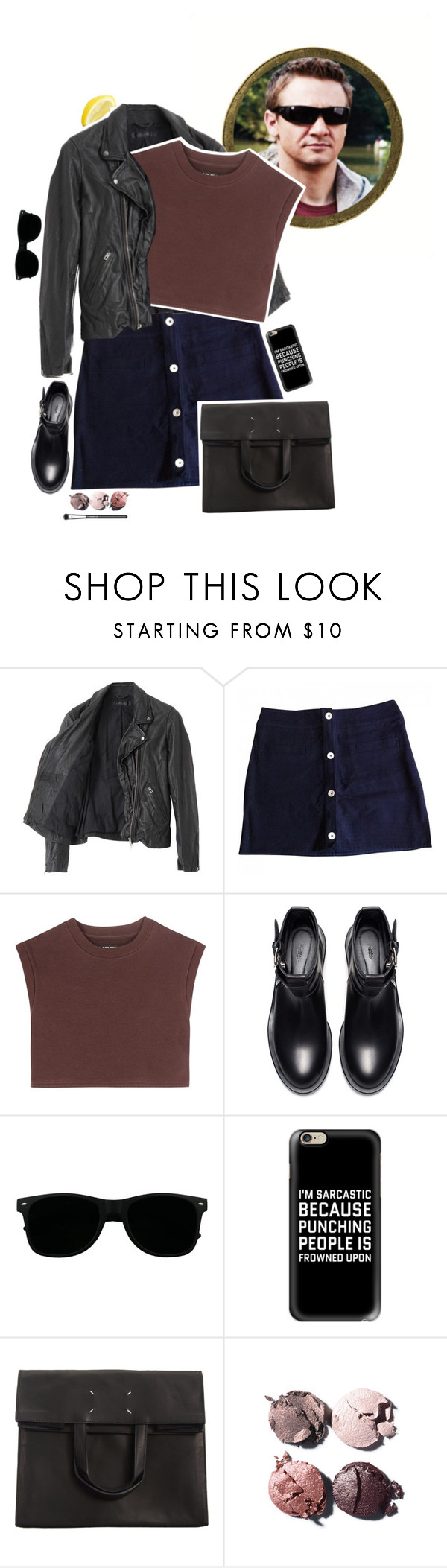 """""""Avengers Summer Style: Hawkeye + Tag"""" by kjvlulu ❤ liked on Polyvore featuring American Rag Cie, Claudie Pierlot, adidas Originals, Zara, Casetify, Maison Margiela, Chanel, MAC Cosmetics and bedroom"""