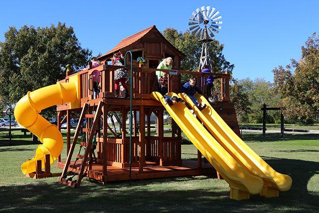 Delicieux Fort Ticonderoga   Backyard Fun Factory