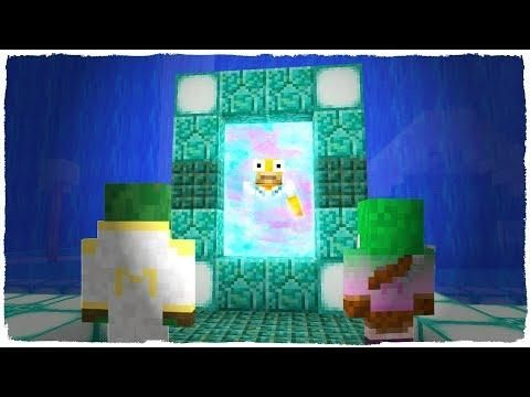 Minecraft Portal A La Dimension De Agua Mini Dimensiones 1