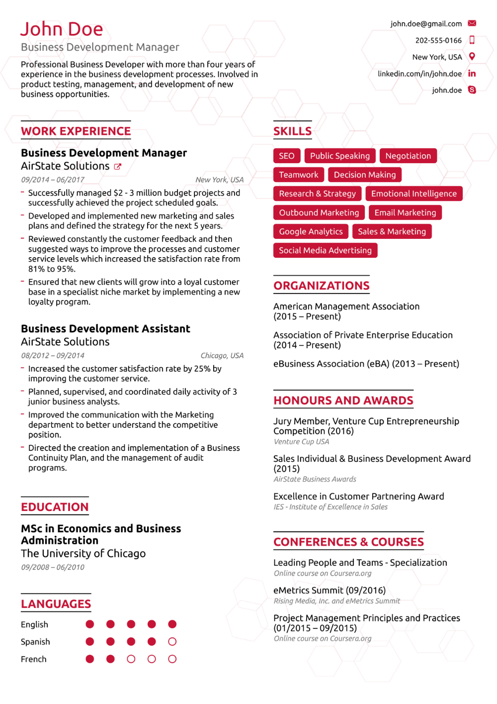 Resume Examples For Your 2019 Job Application Good Resume Examples Job Resume Examples Resume Skills