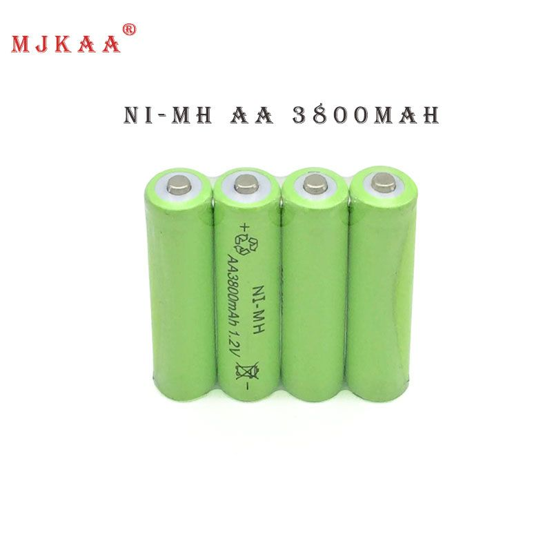 12pc A Lot Ni Mh 3800mah Aa Batteries 1 2v Aa Rechargeable Battery Ni Mh Battery For Camera Toys