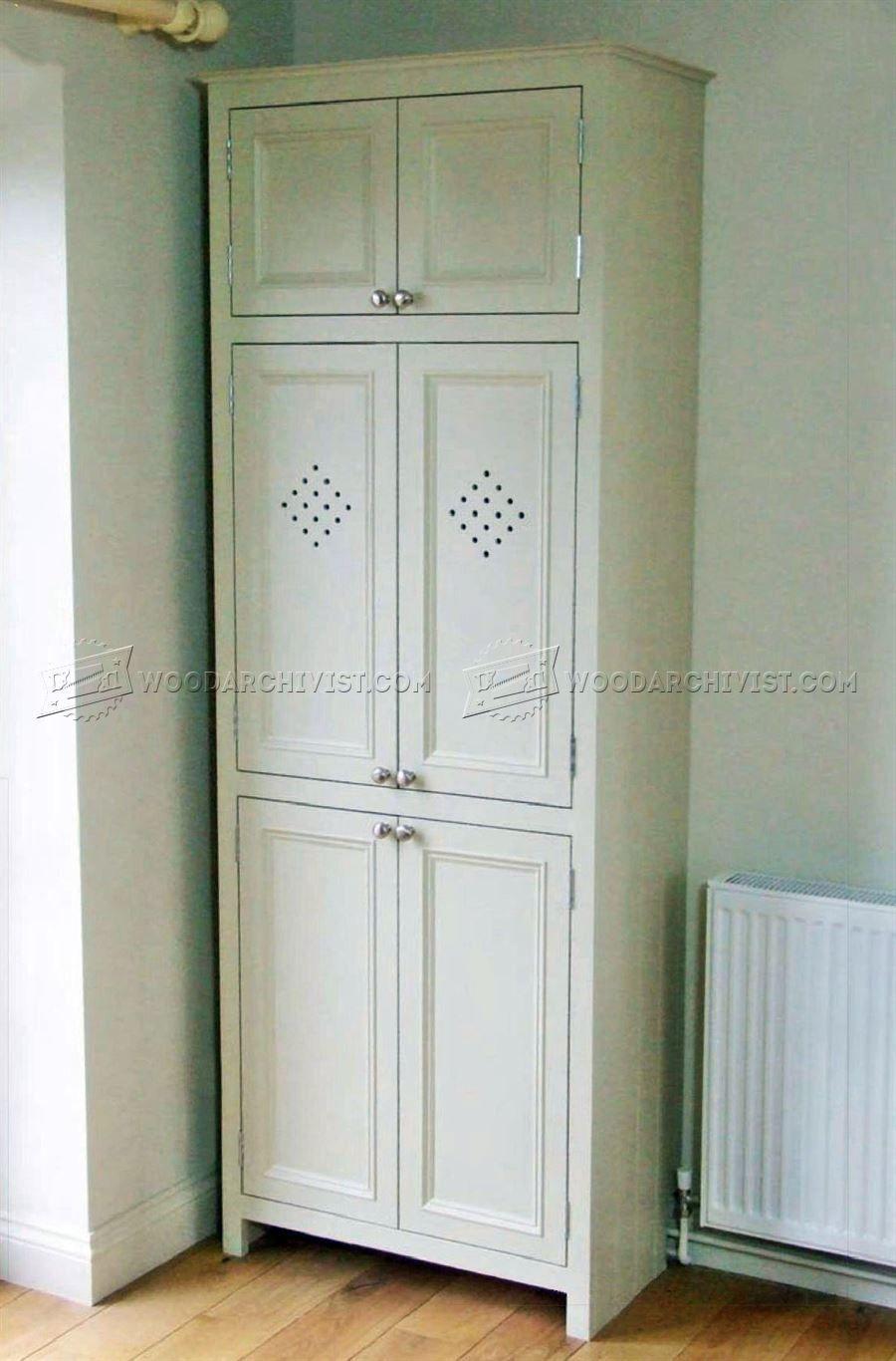 Kitchen Larder Cupboard Plans Furniture