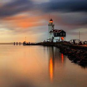 Sunset at Marken, Holland by wim denijs / 500px