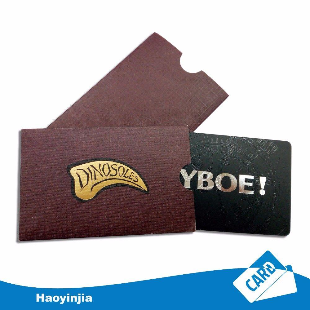 Factory Print Pvc Card And Card Sleeve