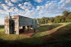 Tabicones de concreto para una acogedora casa de fin de semana. BVN Architects - Noticias de Arquitectura - Buscador de Arquitectura