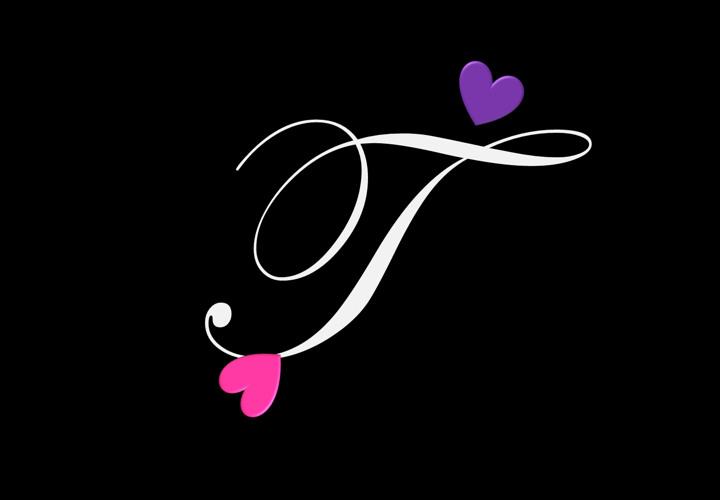 عکس پروفایل حرف T گلچین شده زیبا خاص Stylish Alphabets T Wallpaper Alphabet Tattoo Designs