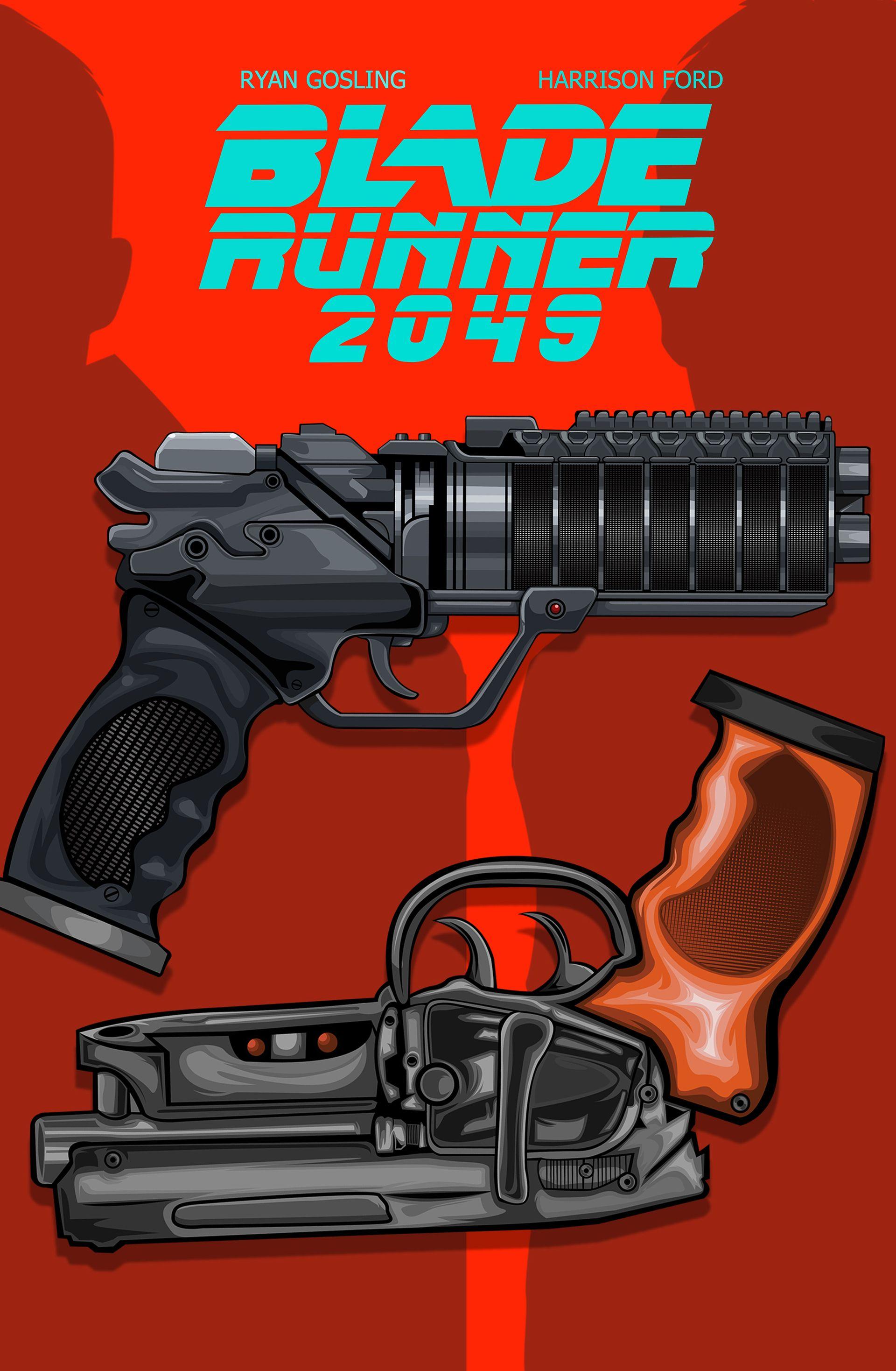 Blade Runner 2049 | Blade runner poster, Alternative movie ...