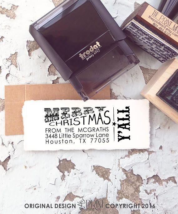 texas christmas return address