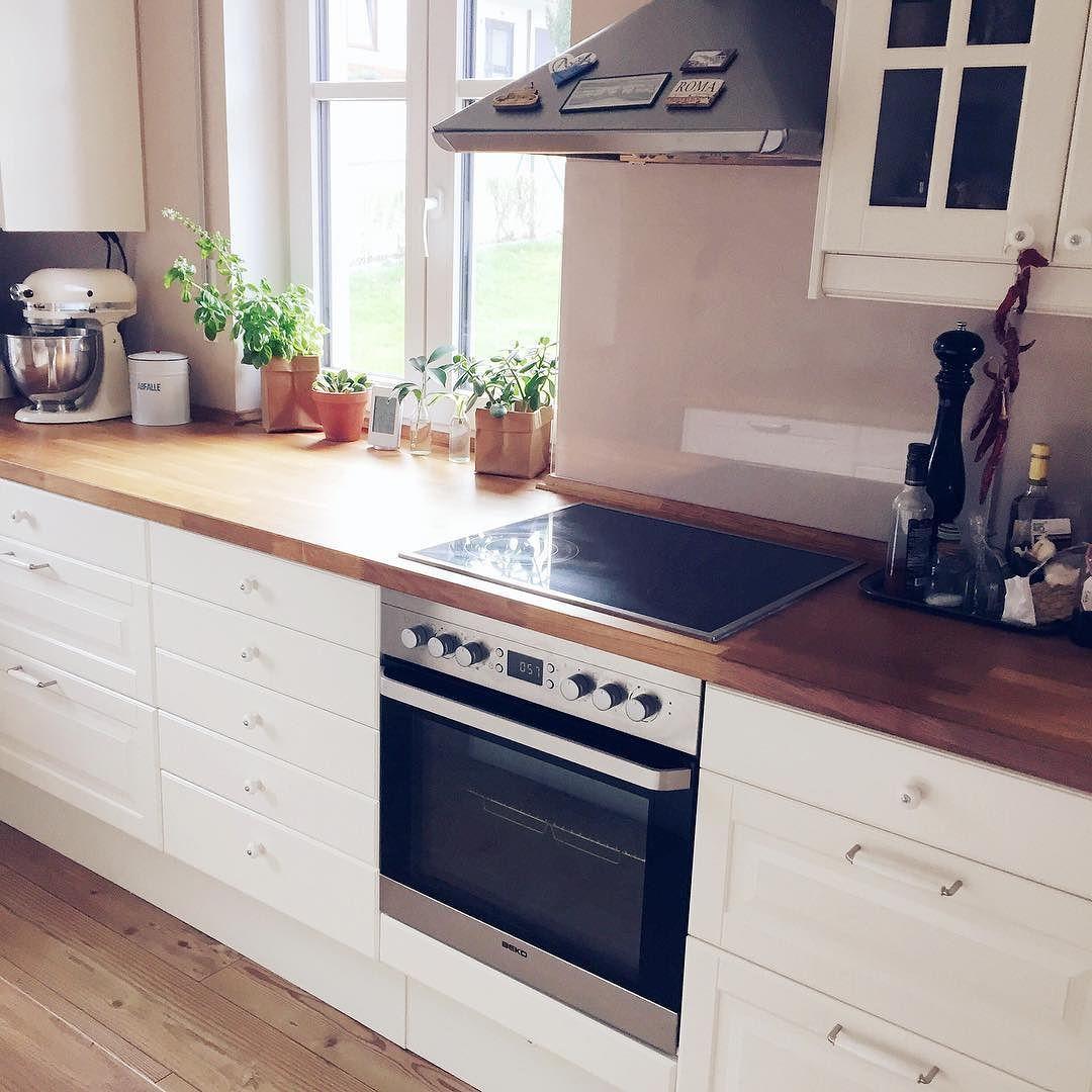 Ich liebe meine Küche einfach über alles. die cremefarbenen Fronten ...