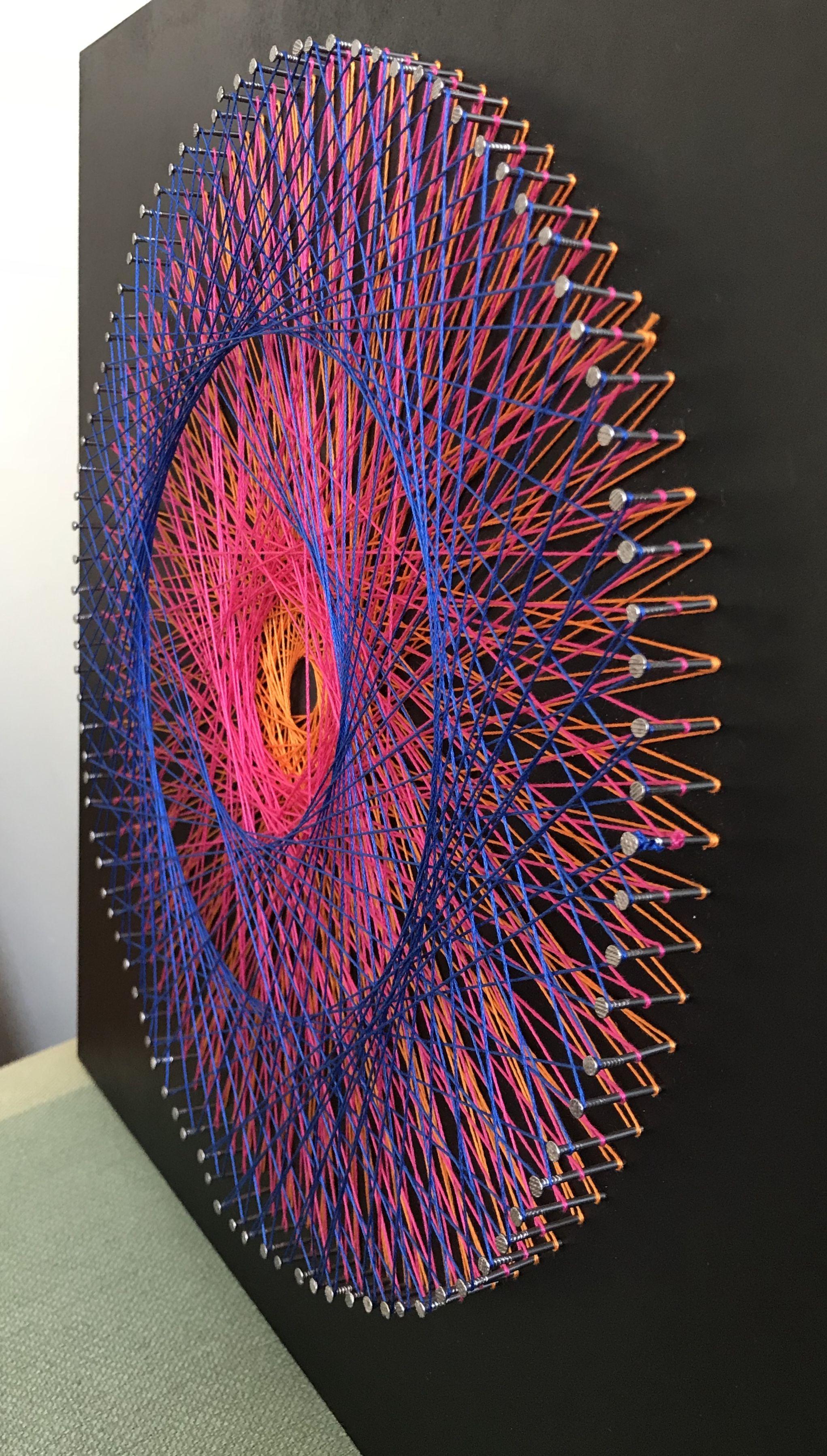 string art regalo matri deco y tuto. Black Bedroom Furniture Sets. Home Design Ideas
