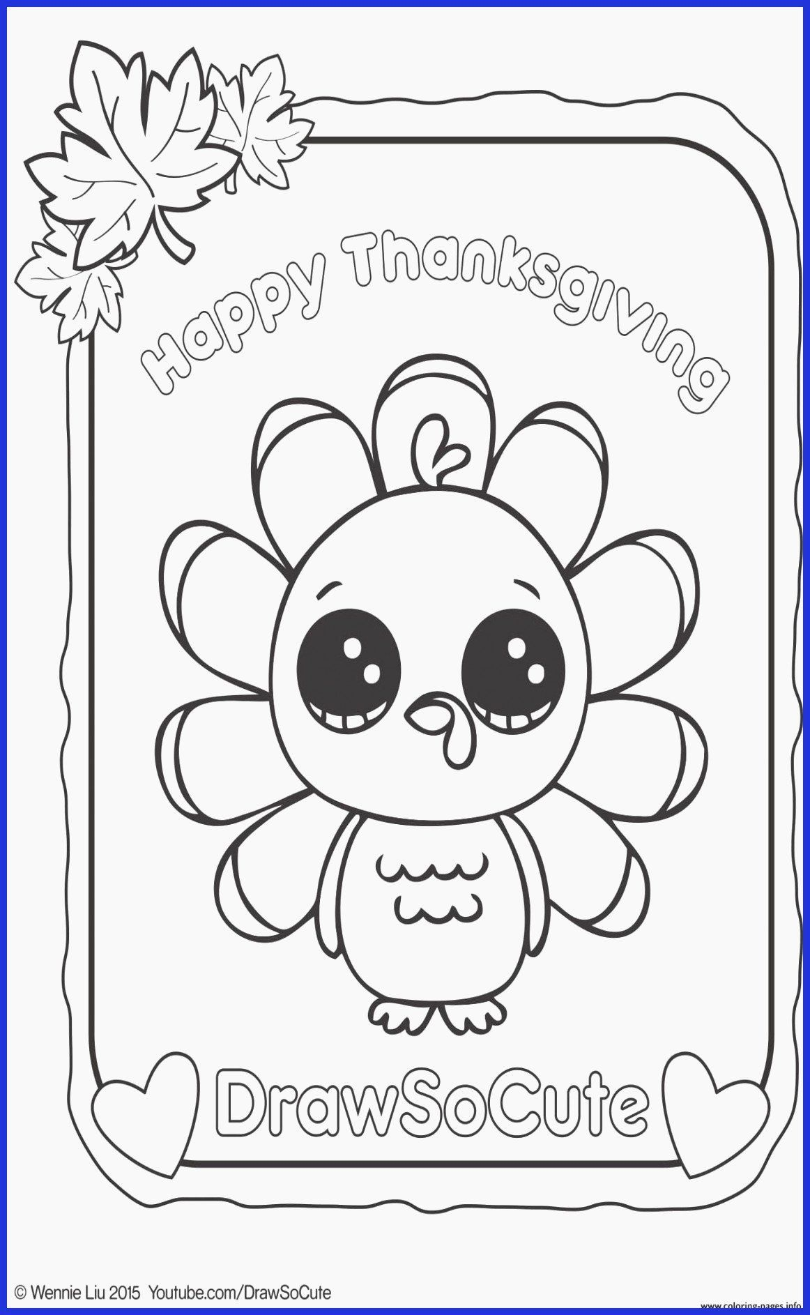 Coloring Animals Youtube In 2020 Turkey Coloring Pages Thanksgiving Coloring Pages Cute Coloring Pages