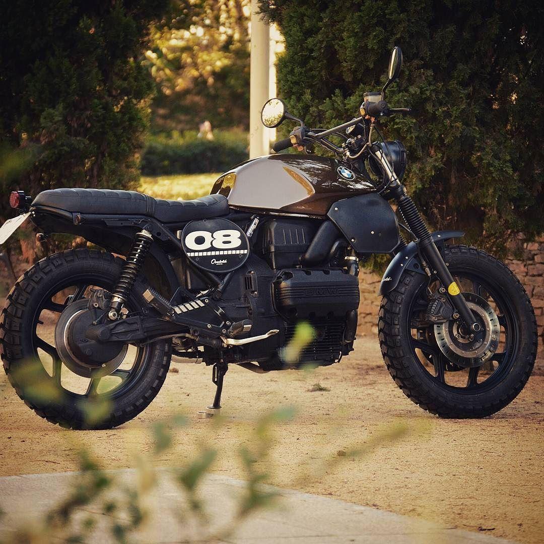 Overbold Motor Co Badass Beemer Bmw K75 Scrambler Tracker