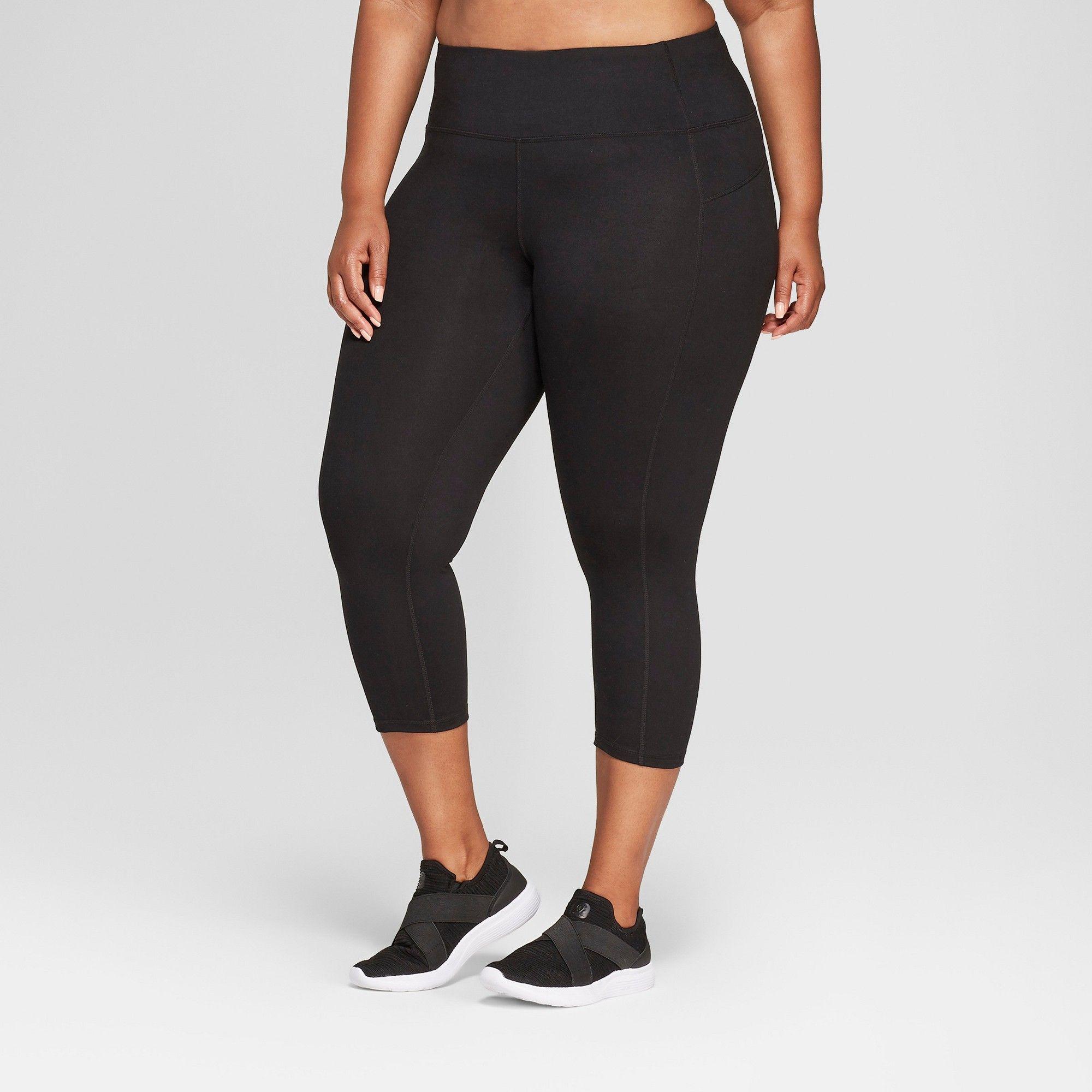 0e82d27ed492 Women s Plus-Size Freedom Capri Leggings - C9 Champion Black 2X ...
