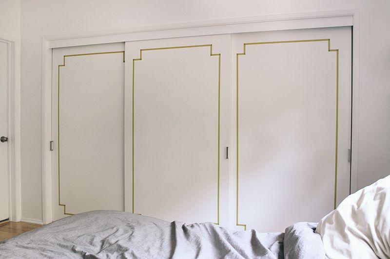 DIY washi taped doors washi Pinterest Deco appartement