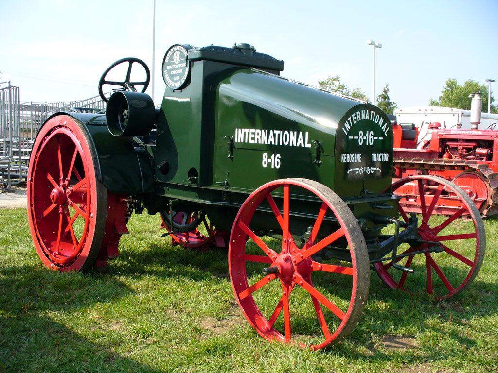 Image result for tractor pictures antiques international