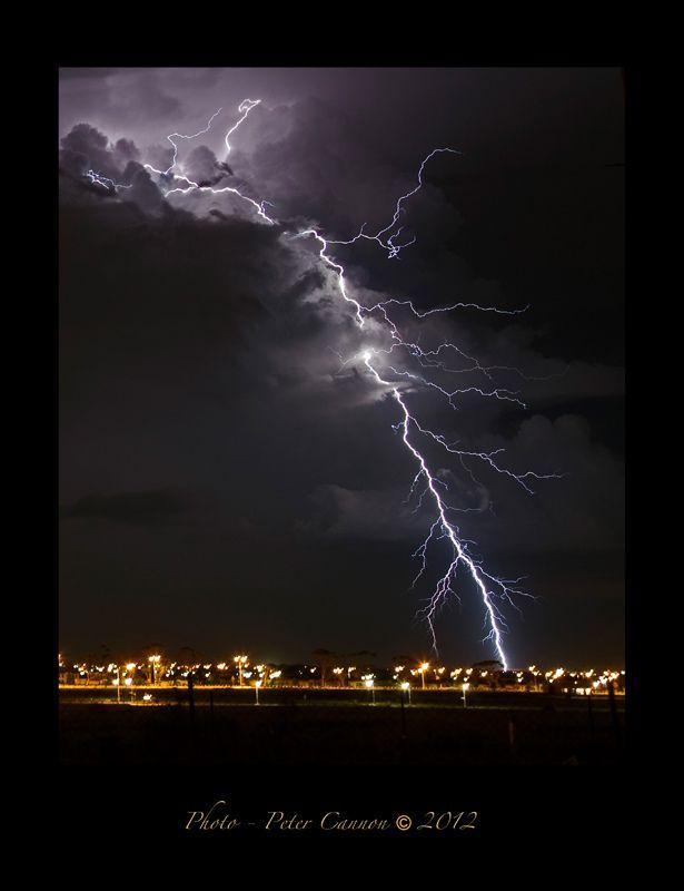 Peter Cannon - Lightning Strike, Wyndham Shire.  http://www.victorianstormchasers.com.au/photos/#