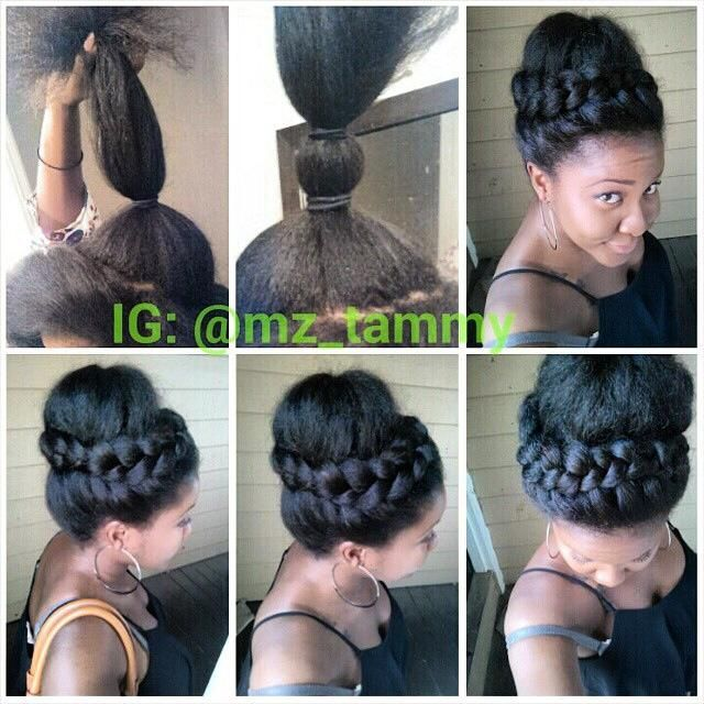 Pin by Black Hair Information on Updos | Pinterest | Community ...