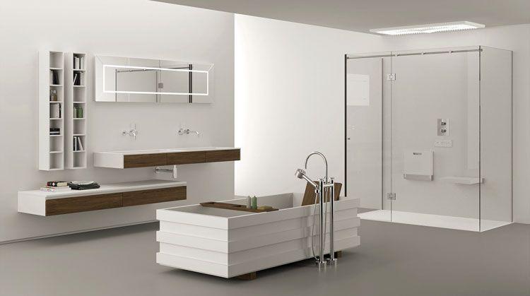 Mobile bagno sospeso design moderno n. 11 | Bagni di design ...
