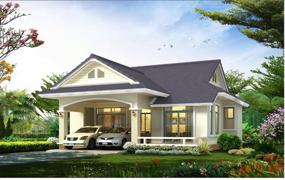 Pin By Mukamu Jelek On House Small House Plans Bungalow House Plans House Design Pictures
