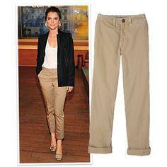 khaki chino pants women - Google Search | D to the L | Pinterest ...