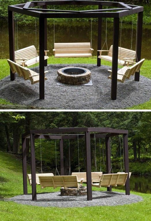 14 Outdoor Fire Pit Ideas that Will Transform Your Backyard #feuerstellegarten