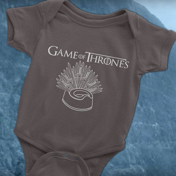 4e9f58ab Game of Thrones Baby Onesie, Game of Thrones Potty training, Game of Thrones  toddler, Game of Thrones baby clothes, Funny Game of Thrones