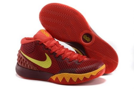 Find Online Nike Kyrie 1 Women Shoes Red Yellow online or in Footseek. Shop  Top Brands and the latest styles Online Nike Kyrie 1 Women Shoes Red Yellow  of ...