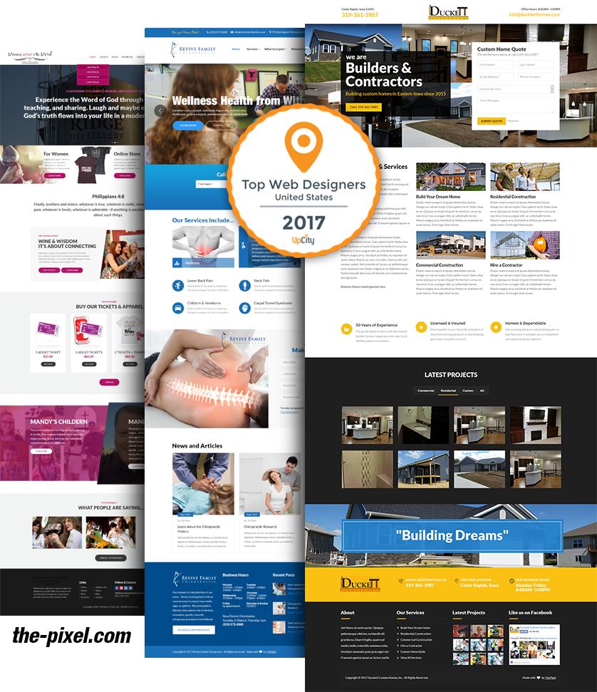 Website Design Cedar Rapids Iowa Mobile Web Development Marketing Website Design Web Design Portfolio Web Design