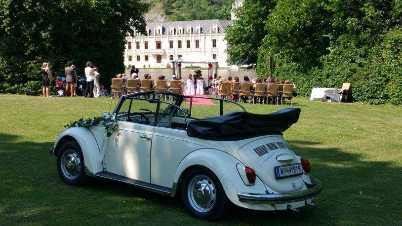 Handel Vermietung Schratzenthaller E U Hochzeit Auto Kafer Cabrio Vermietung